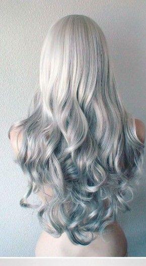 Telerin Elves' hair as I imagine it