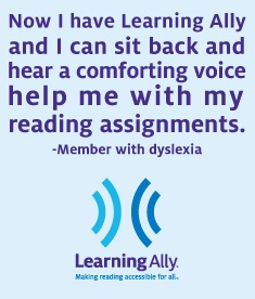 www.LearningAlly.org - Members with print disabilities can download human-read audio textbooks.