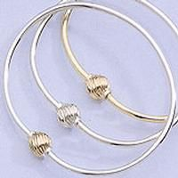 CAPE COD JEWELRY Store - View a larger image of this Cape Cod Bracelet Swirl - Bangle 1 Ball