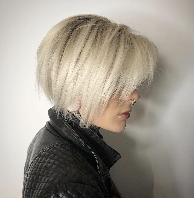 Short Edgy Bob Haircut For Fall Perfection Edgy Bob Hairstyles Edgy Haircuts Edgy Short Haircuts