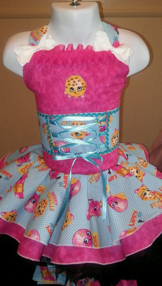 National Pageant Casual Wear OOC. Boutique Shopkins  18mos-3t #Handmade #DressyEverydayHoliday