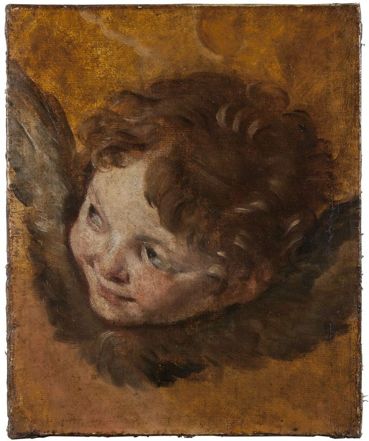 (Д.Крисли -Херувим-XVII  век)Национальный музей Швеции