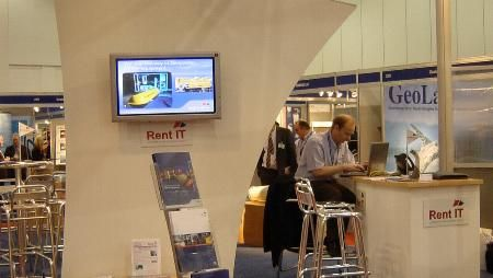 Seatronics & Rent IT Stand at Oceanology 2004, Excel Centre London. #Oceanology #London #ExcelCentre