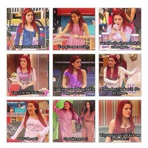 Cat from Victorious.