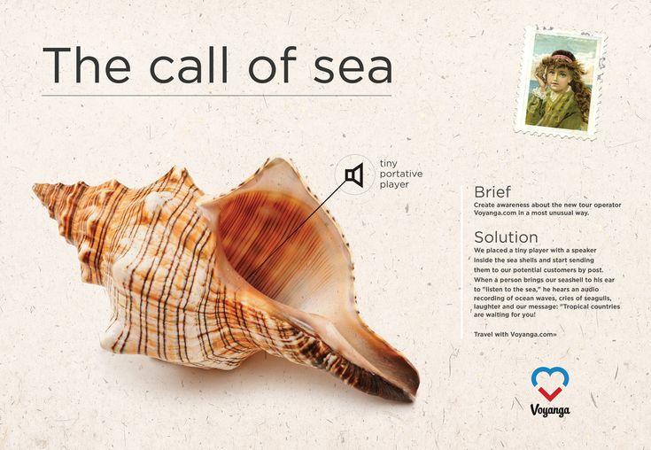 Travel company Voyanga: The call of sea