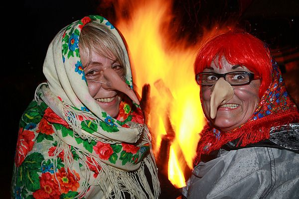 "The Czech name Čarodějnice translates directly to ""the witches."" The more universal name Walpurgis Night or Walpurgisnacht.   People usually have a bonfire, chat, drink beer and dress like witches"
