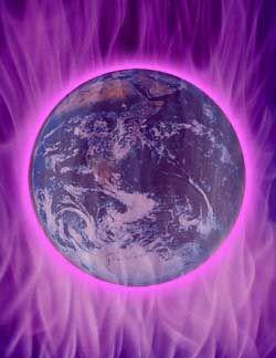 terra en llama violeta: terra en llama violeta