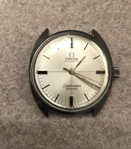 OMEGA SEAMASTER COSMIC AUTOMATIC STAINLESS STEEL MENS WRISTWATCH
