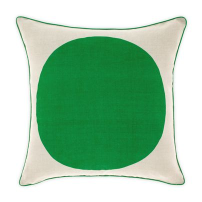 Big Spot cushion in Emerald 50cm