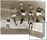 Manchester United vs. Arsenal, Football Match at Old Trafford, October 1967 Prints