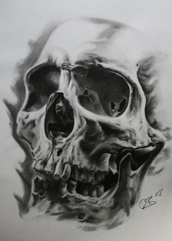 skull-tattoo-drawing.jpg (575×807) | Craft Ideas ...
