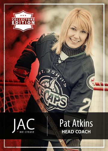 Pat Atkins | Head Coach | Organization and management are the drive behind a team that works hard and plays even harder. The expertise of a Head Coach to any team is crucial. Pat is our Project Manager at JAC, enforcing strategy and directing work flow are her strengths. Tea and homemade bread are her weaknesses.