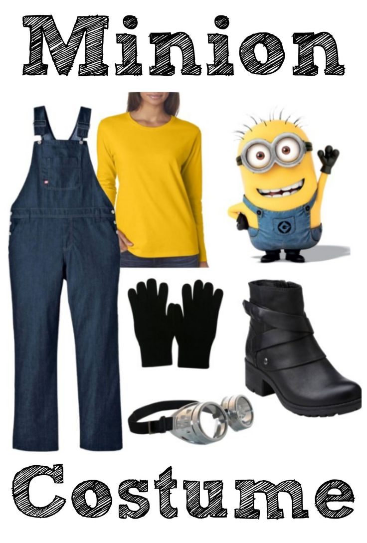 Are you dressing up for Halloween This Year?? Check out this Adult Minion Costume