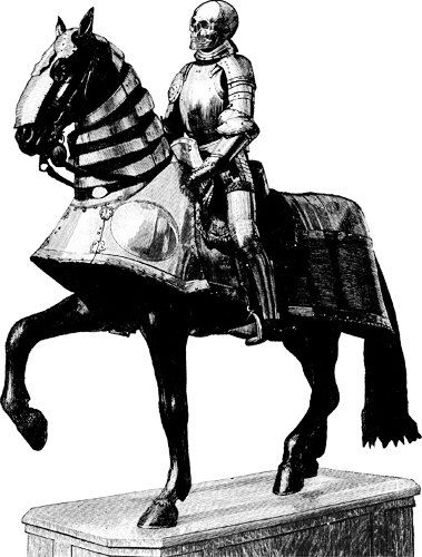 skeleton knight png graphics death rider skull clip art digital art image download goth sci fi fantasy illustration