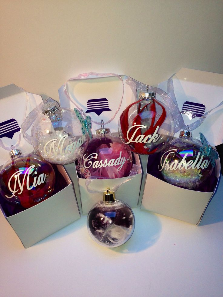 Best 25+ Personalised christmas baubles ideas on Pinterest ...