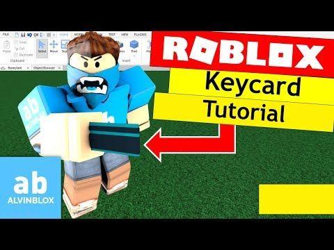 4) Roblox Scripting Tutorial - How To Make A Keycard Door