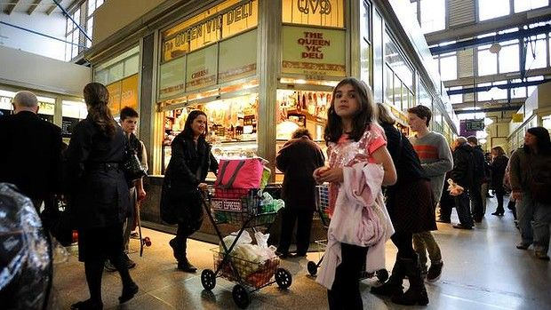 Queen Victoria Market.
