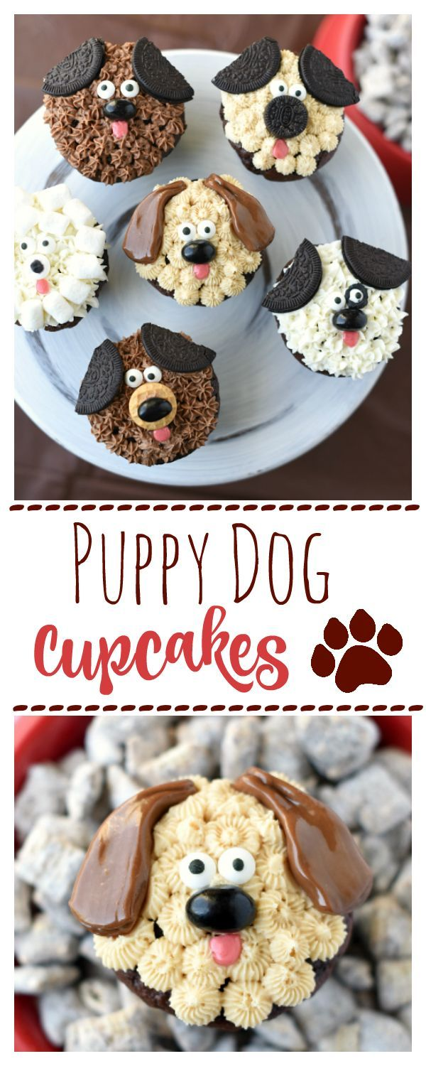 Puppy Dog Cupcakes – Fun-Squared