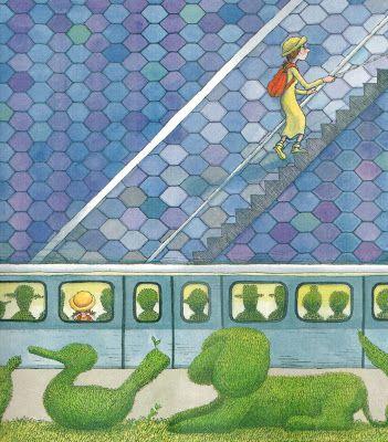 La ragazzina cieca può scendere in una foresta e risalire verso i ghiacci del polo, percorrere scalette di sapore escheriano ed affiorare in uno spettacolo da circo Barnum, tra elefanti e clown, può trasformare i treni carichi di passeggeri in caravanserragli pieni di pesci o animali.
