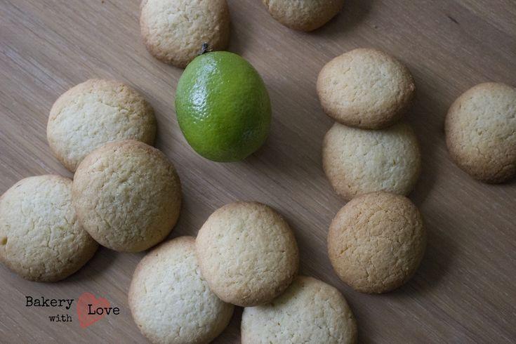 Ik had onder andere deze limoen koekjes gebakken om te trakteren op mijn koor. Ze waren erg lekker moet ik zeggen, die ga ik zeker vaker maken!