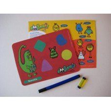 Doodlewiz Insert Pack - Beastie made in Hampshire and supplied by Green Lighthouse Limited in #Devon - £5.50