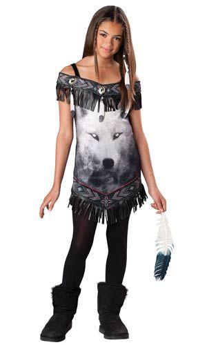 Tween Tribal Spirit Indian Costume   Costume Craze