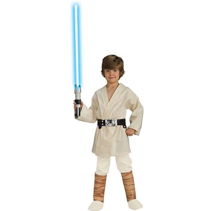 Star Wars Deluxe Luke Skywalker Child Costume, Kids Unisex, Multicolor