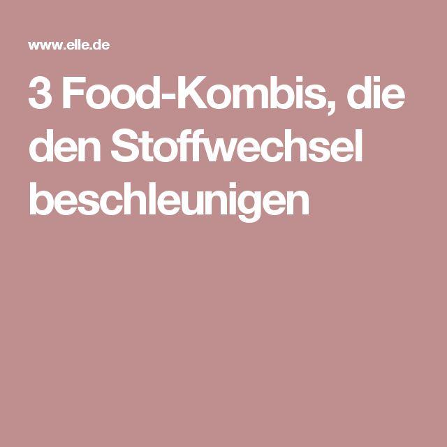 3 Food-Kombis, die den Stoffwechsel beschleunigen