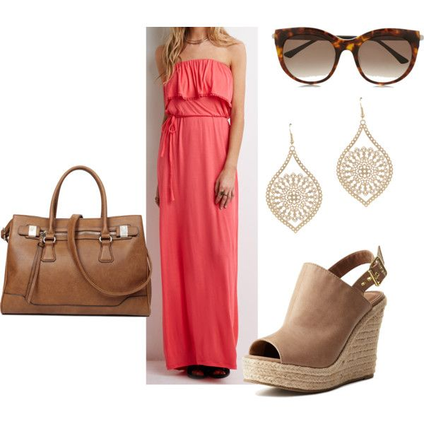 Untitled #141 by serdarsa on Polyvore featuring Forever 21, Charlotte Russe, ALDO and Thierry Lasry