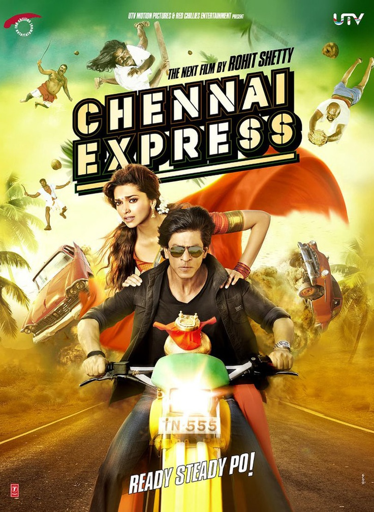 """Move your booty with Shahrukh Khan's just released Title Track promo from his upcoming movie """"Chennai Express"""" starring along with Deepika Padukone."""