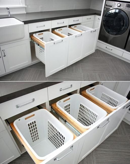 20 space saving ideas for functional small laundry room design - Storage For Small Spaces Rooms