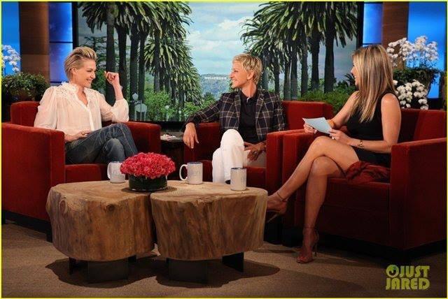 Jennifer Aniston on The Ellen Degeneres Show May 22, 2013