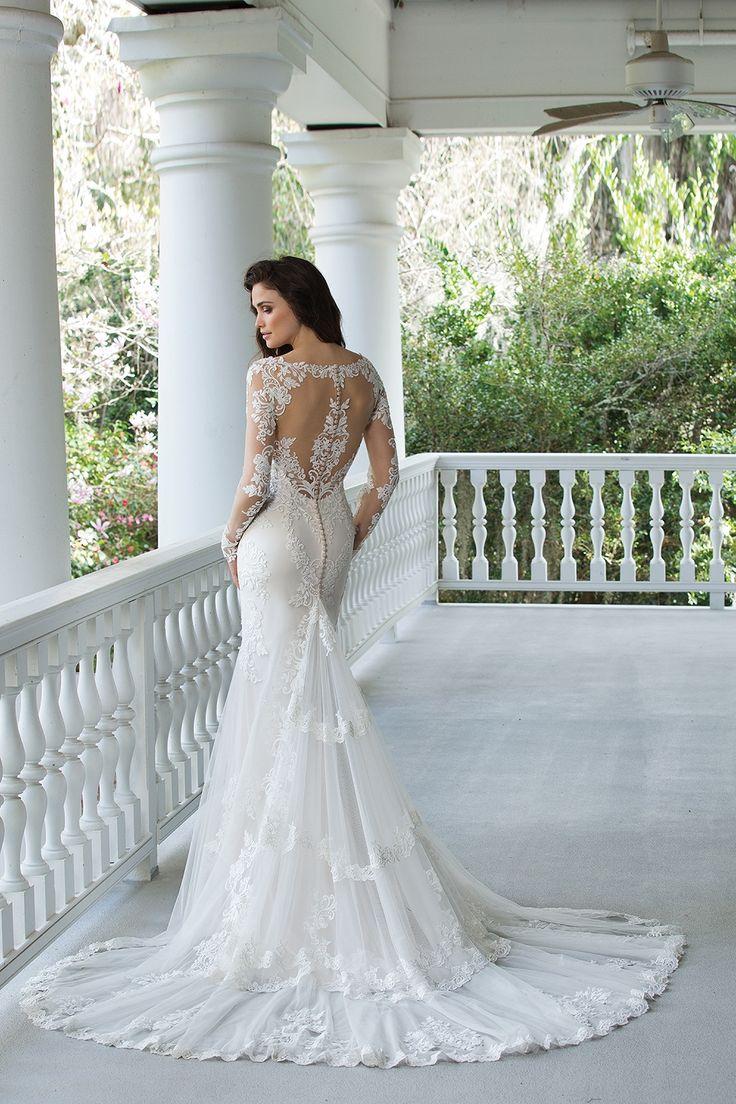 Mejores 102 imágenes de Vestidos de novia estilo Sirena en Pinterest