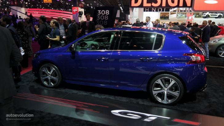 Sporty Peugeot 308 GT Debuts in Paris: Pricing Announced [Live Photos] http://www.autoevolution.com/news/sporty-peugeot-308-gt-debuts-in-paris-pricing-announced-live-photos-87315.html
