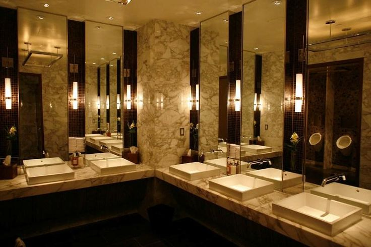 Public Bathroom - InterContinental New York Times Square Hotel