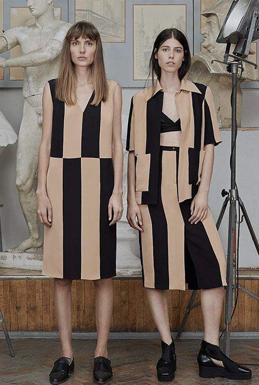 NEW ARRIVALS. Сарафаны и платья, брюки и юбки прямых силуэтов, украшенные графическими узорами и яркими полосами, вдохновлены силуэтами 60-70 годов. Новая коллекция SS`15 от бренда Bevza уже доступна на suitster.com  купить http://suitster.com/brends/f_6-19/  #suitster #online #store #fashion #style #newarrivals #bevza