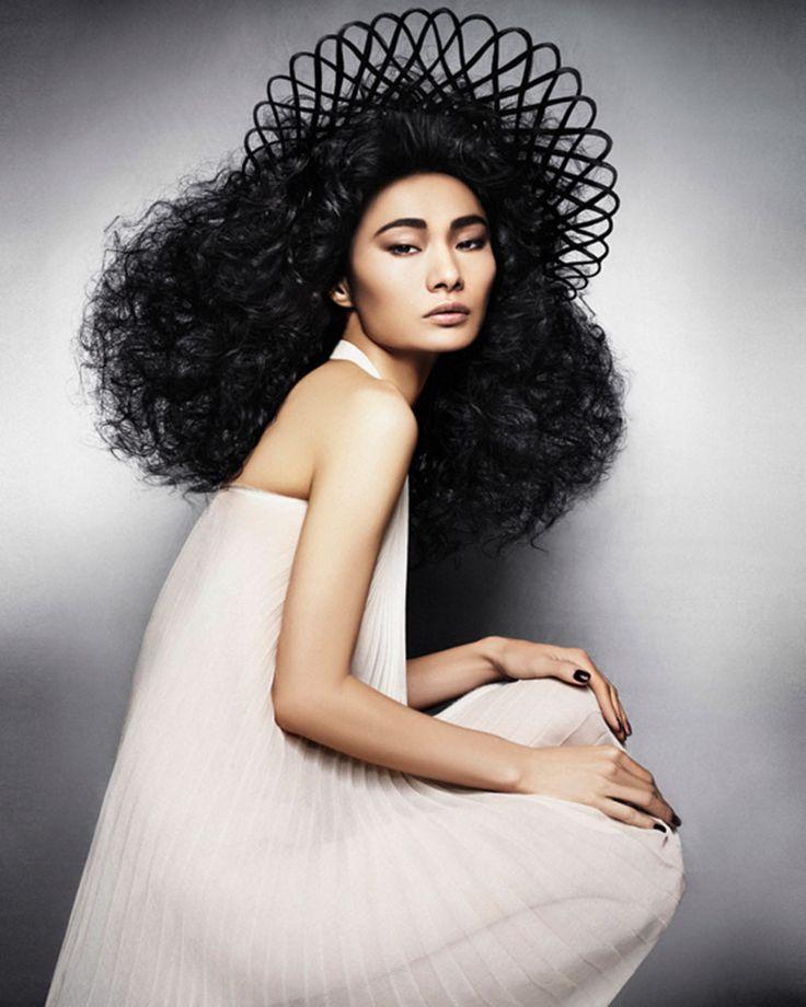 naha2014 hairstylist barron hairstylist hair hair and art hair big hair hair crazy avant garde hair avante garde david barron avant garde meets arabic