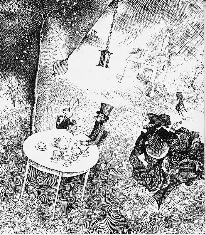 """Геннадий Калиновский «Алиса в стране чудес»   """"Картинки и разговоры"""""""