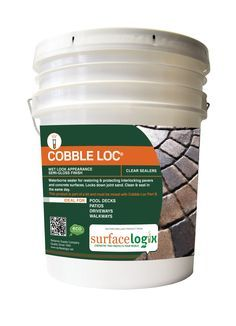 Cobble Loc is the newest technology in waterborne protection for concrete, brick pavers and surfaces decorated with our Texture Deck. Cobble Loc may be used over most porous surfaces as it has excellent water resistance and marking resistance. Unlike other clear finishes, Cobble Loc has excellent resistance to brake fluid, gasoline, bleach, and acids. Cobble Loc also seals grout and sand in place and prevents ant hills. It allows the applicator to clean and seal pavers on the same day.