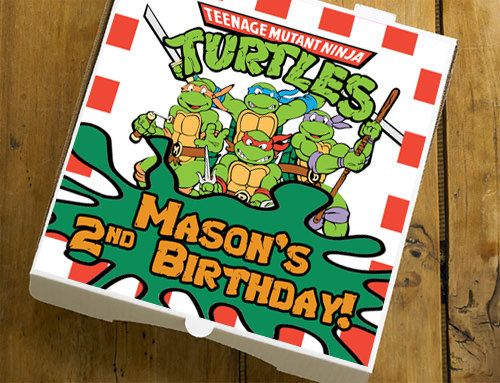 Best 25 ninja turtle invitations ideas on pinterest ninja 3d unique teenage mutant ninja turtle invitation tmnt invite custom ninja turtle favor pizza solutioingenieria Images