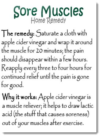 sore muscles blog, I think i over did it this weekend one to many boxes, but apple cider vinegar guess if it works dont know about the mess..L.O.L. Lose weight and build muscle, using protein powders!                                                                                                                                                      More