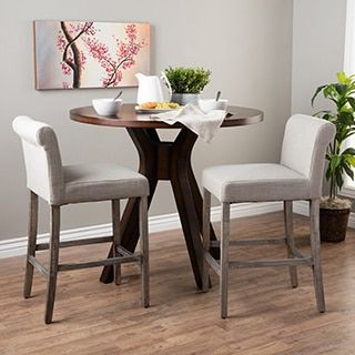 Shop for Cosmopolitan Beige Linen Counter Stools (Set of 2). Get free shipping at Overstock.com - Your Online Furniture Outlet Store! Get 5% in rewards with Club O!