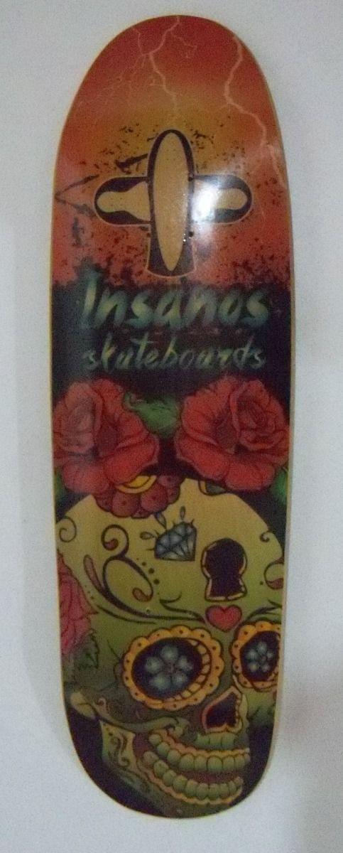 Shape Skate Oldschool Insanos - R$ 100,00 no MercadoLivre