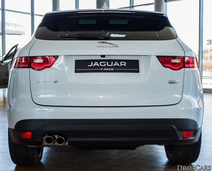 The tailgate of the #Jaguar #FPACE