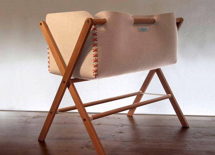 Awesome Woodly Pluma Babywiege jetzt online kaufen Preisgekr ntes Design aus Italien Schadstofffreie Materialen Versandkostenfrei bestellen