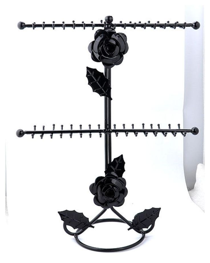 New Black Necklace Bracelet Jewelry Display Rack Holder Tree d038 >>> You can get more details here : Display Stands Home Decor