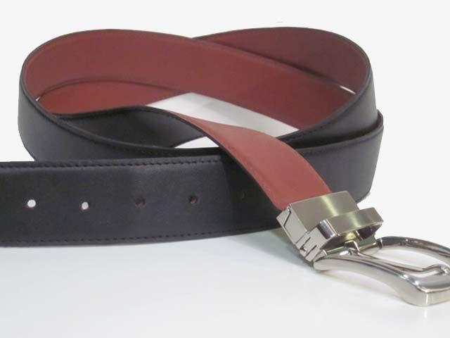 #Cinturón de Vestir #Reversible 3,5cm para Caballero. Pieza hecha a mano con #Piel de máxima #Calidad. Elegante, versatil y de gran resistencia. Cómpralo en www.manosesmas.com