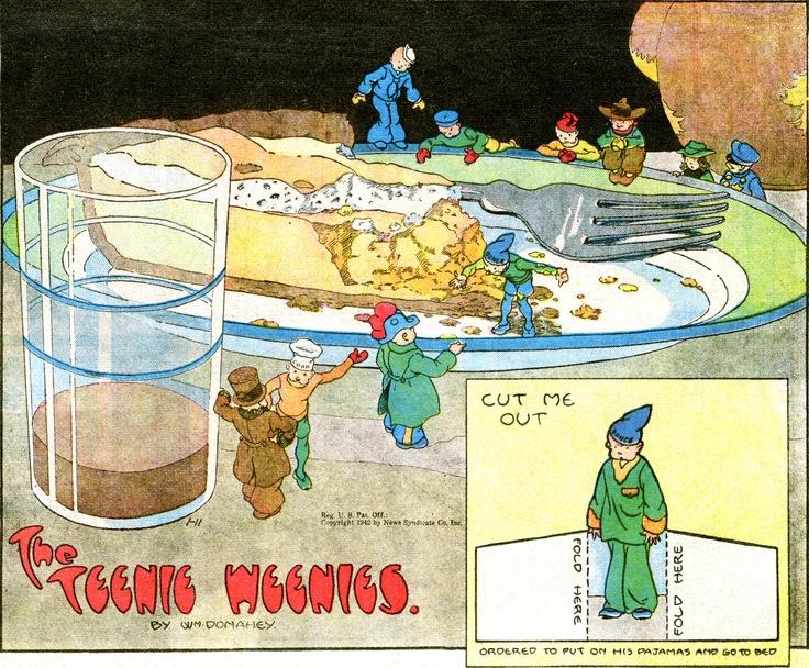 The Teenie Weenies - William Donahey.TW1942-01-11.jpg (3000×2480)