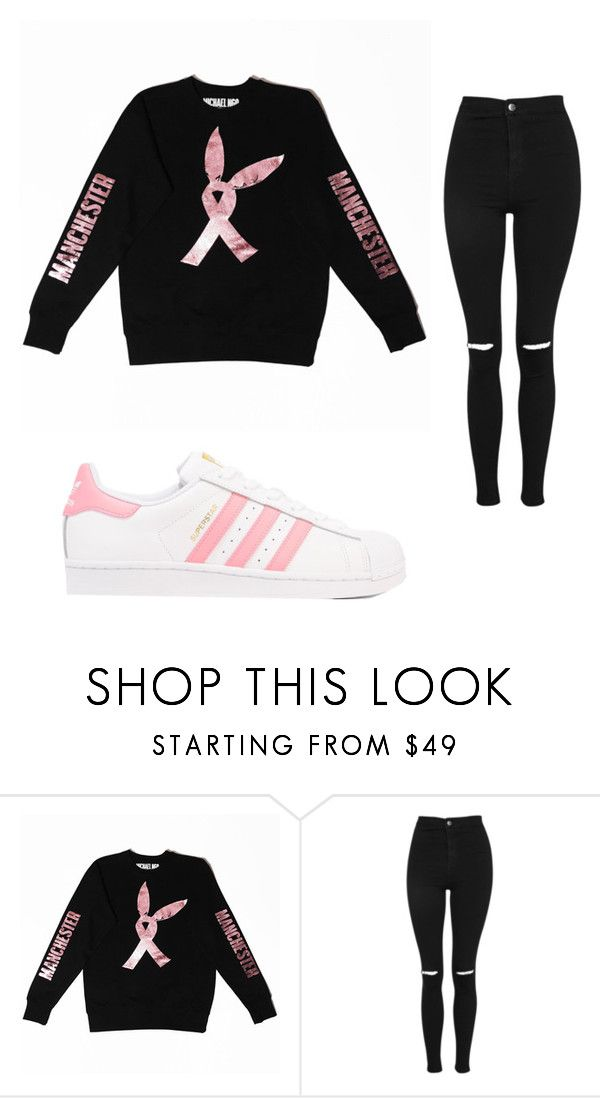 """""""Untitled #751"""" by alanawedge59 on Polyvore featuring Topshop and adidas Originals"""