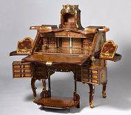 Abraham and David Roentgen roll top desk. See pin on Roentgen furniture